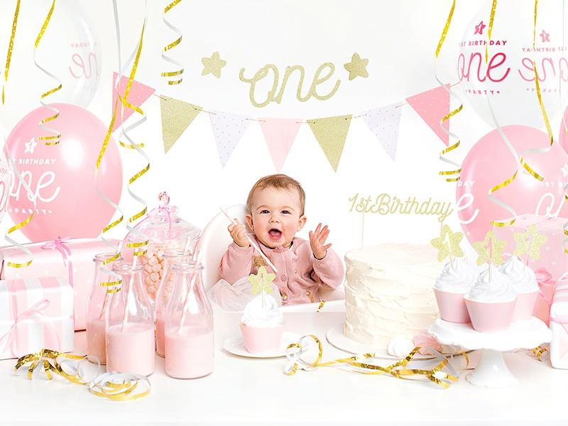 Wonderlijk Verjaardag box - eerste verjaardag meisje - Instyle Decoraties BP-22