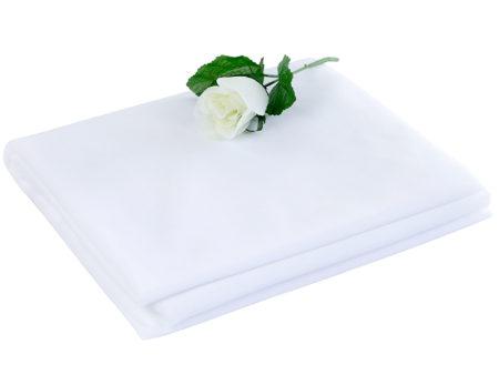 witte draperie