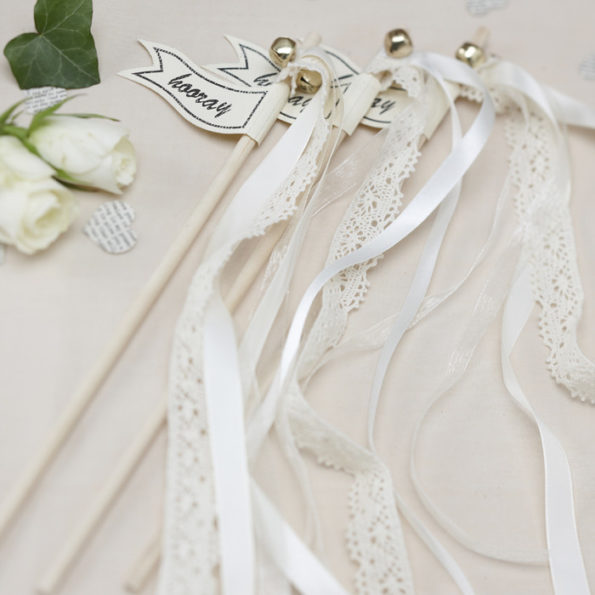 Wedding wands wit