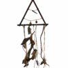 Dromenvanger, driehoek, veertjes, belletje